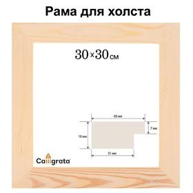 Рамка для декорирования №2, 30 х 30 см, профиль 16 х 50 мм Ош