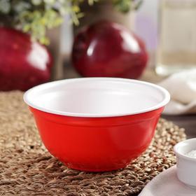 Миска суповая 500 мл, цвет красный Ош