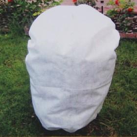 Чехол для растений, прямоугольный на шнурках, 160 × 90 см, спанбонд с УФ-стабилизатором, плотность 42 г/м², набор 2 шт., цвет белый Ош