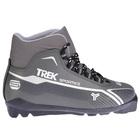 Ботинки лыжные TREK Sportiks SNS ИК, цвет металик, лого серебро, размер 41