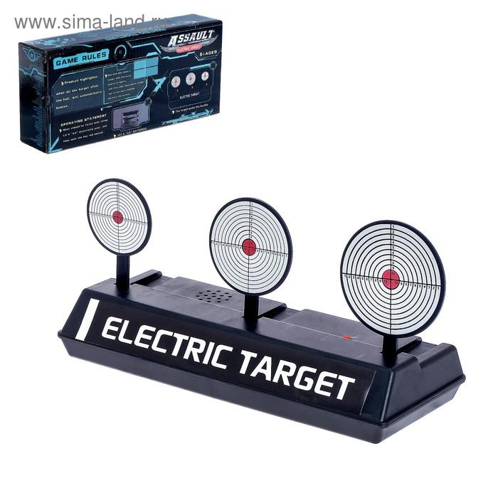 Автоматическая мишень «Попади в 3», работает от батареек