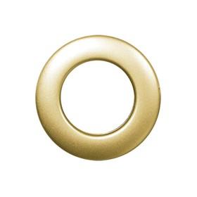 Люверсы для штор круглые (1 шт), d-25 мм, цвет золотой Ош