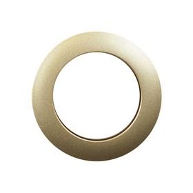 Люверсы для штор круглые (1 шт), d-40 мм, цвет золотой Ош