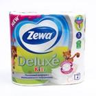 Туалетная бумага Zewa Kids, 3 слоя, 4 шт.