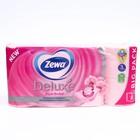 Туалетная бумага Zewa Deluxe Royal Orchid, 3 слоя, 8 шт.