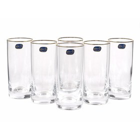 Набор стаканов для воды «Барлайн», 300 мл, 6 шт