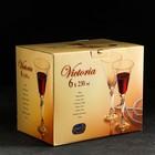 Набор бокалов для вина «Виктория», 230 мл, 6 шт. - Фото 2