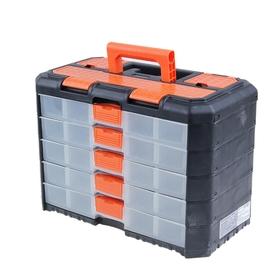 Органайзер для инструментов 5 секций Reef BLOСKER Grand, цвет черно-оранжевый