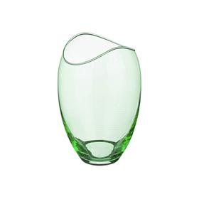 Ваза для цветов «Гондола», цвет зелёный, 18 см