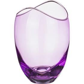 Ваза для цветов «Гондола», цвет фиолетовый, 18 см