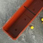 Ящик балконный, 60 см, цвет терракотовый - Фото 3