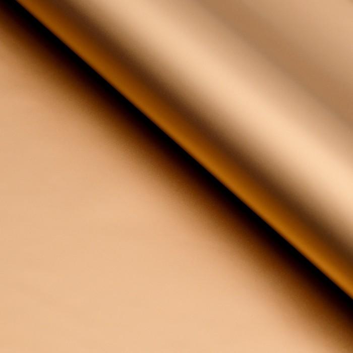 "Плёнка матовая двухсторонняя ""Эссенс"",золотой, 57 х 57 см"