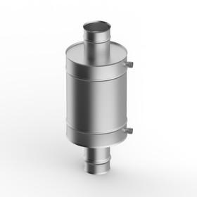 Теплообменник 7 л, d 115 мм, нержавейка 0.8 мм Ош