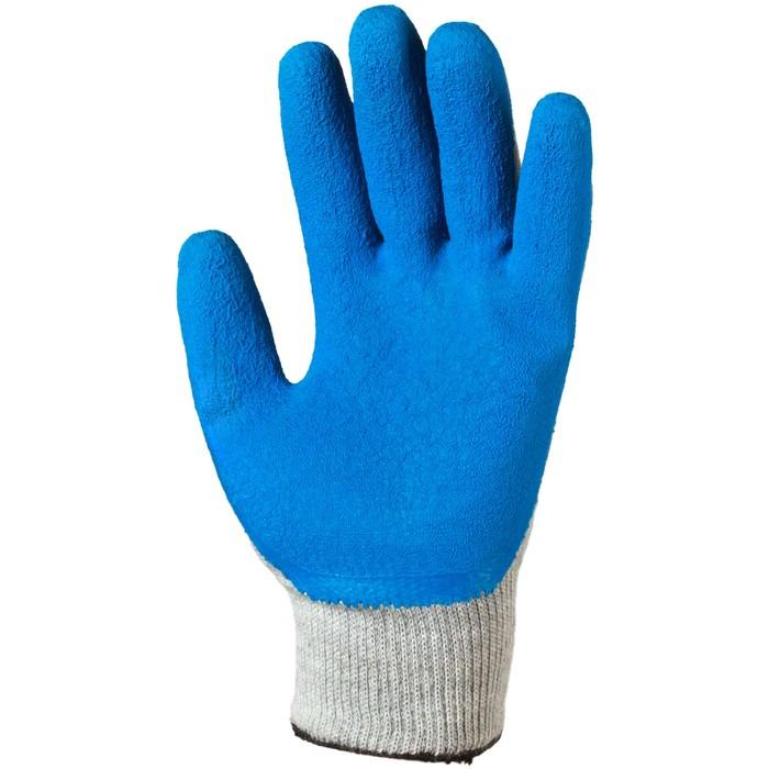 Перчатки шерстяные «Колыма» (акрил, латекс), размер 10
