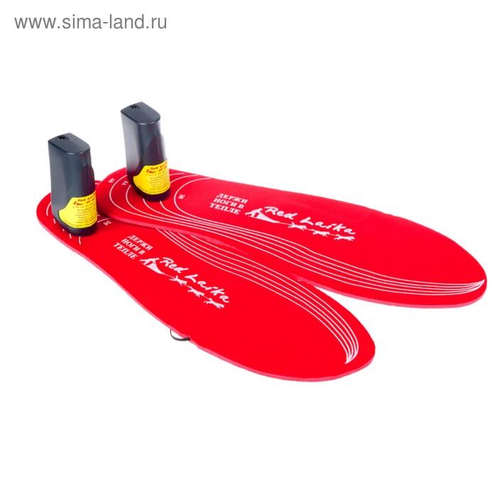 Стельки, с подогревом RedLaika RL-ST-Akk с аккумуляторами, до 6 часов, 3400mAh