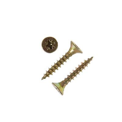 Саморезы универсальные TECH-KREP, ШУж, 5х30 мм, жёлтый цинк, потай, 6000 шт.