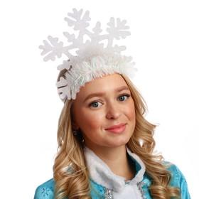 Кокошник 'Снежинка резная-1' Ош