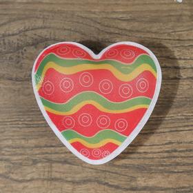 Ночник пластик 'Сердца' от 3хLR44 МИКС 7,5х3,5х7 см Ош