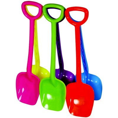 Лопатки для детей, с ручкой, длина 55.5 см, МИКС - Фото 1