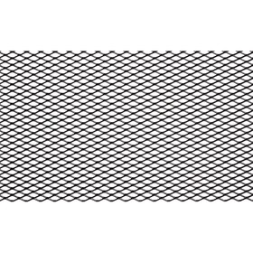 Сетка для защиты радиатора, алюм., яч. 10х4 мм (R10), 100х20 см, черная Ош