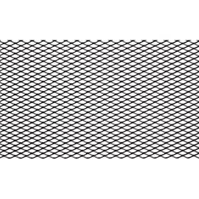 Сетка для защиты радиатора, алюм., яч. 10х4 мм (R10), 100х40 см, черная Ош