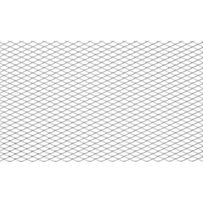 Сетка для защиты радиатора, алюм., яч. 10х4 ммR10, 100х20 см, без покраски