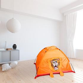 Игровая палатка «Тигр», цвет оранжевый Ош