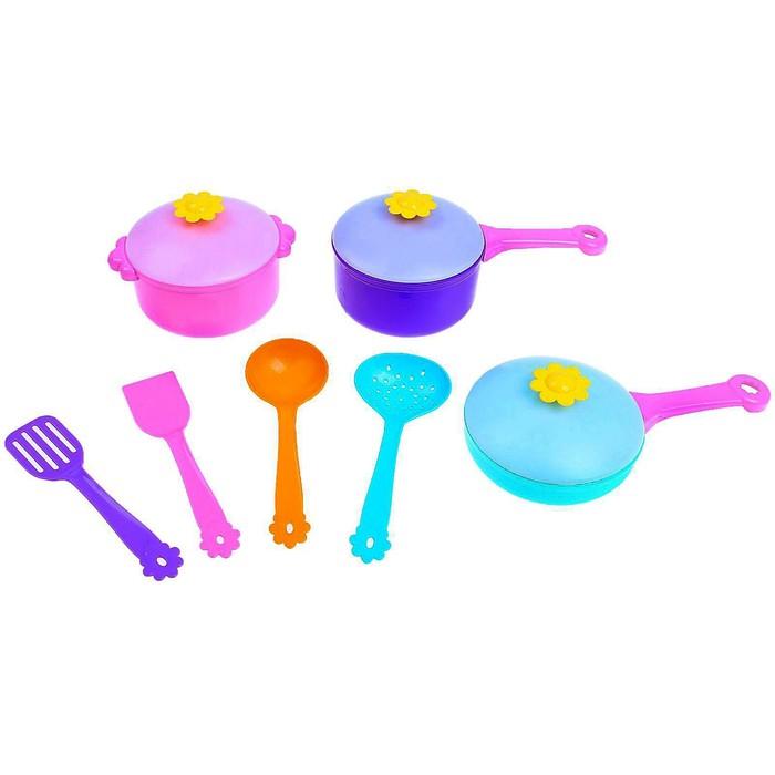 """Набор посуды столовый """"Ромашка"""" 10 предметов"""