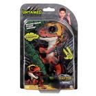 Интерактивная игрушка «Динозавр Блейз», зелёный с оранжевым, 12 см