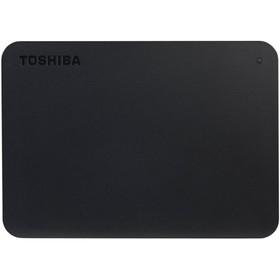 """Внешний жесткий диск Toshiba USB 3.0 1 Тб HDTB410EK3AA Canvio Basics 2.5"""" черный"""