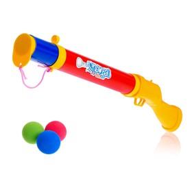 Ружьё «Охотник», стреляет мягкими шариками, цвета МИКС Ош