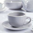 """Чайная пара 200 мл """"Зимнее утро"""", блюдце 15 см"""