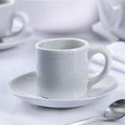 """Кофейная пара 100 мл """"Зимнее утро"""", блюдце 13,5 см"""