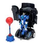 Робот радиоуправляемый «Автобот-боксёр», трансформируется, спорткар, с аккумулятором, заряд от USB - Фото 2