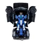Робот радиоуправляемый «Автобот-боксёр», трансформируется, спорткар, с аккумулятором, заряд от USB - Фото 3