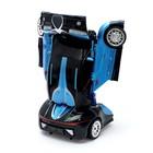 Робот радиоуправляемый «Автобот-боксёр», трансформируется, спорткар, с аккумулятором, заряд от USB - Фото 4