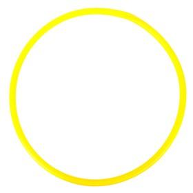 Обруч, диаметр 60 см, цвет жёлтый Ош