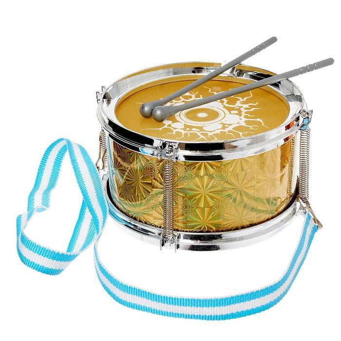 Игрушка барабан «Золото», d=15 см