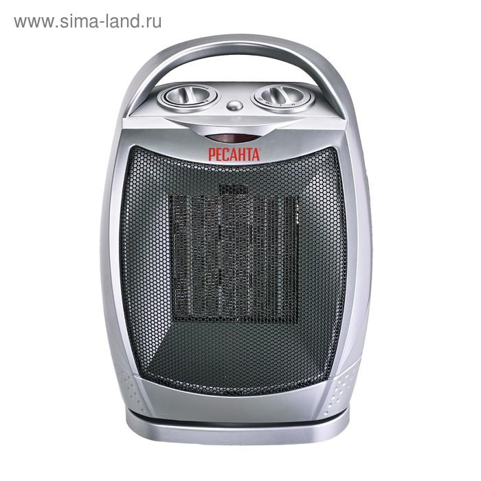 """Тепловентилятор """"Ресанта"""" ТВК-2, 900/1800 Вт, режим """"вентилятор"""", поворот, серый"""