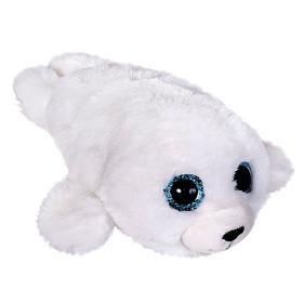 Мягкая игрушка «Глазастик тюлень», 15 см