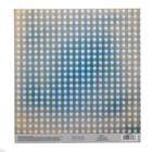 Бумага для скрапбукинга с клеевым слоем «Клетка», 20 ? 21,5 см, 250 г/м