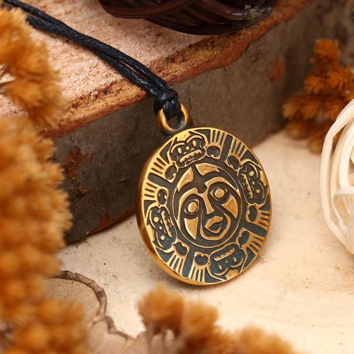 """Амулет """"Индейский дух Бога Солнца"""" (согревает душу, укрепляет дух) , длина 68см"""