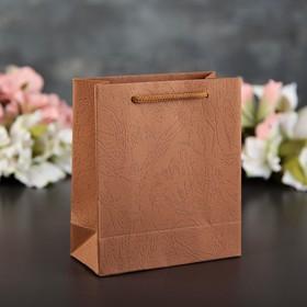 Пакет из дизайнерской бумаги 13 х 6 х 15 см Ош