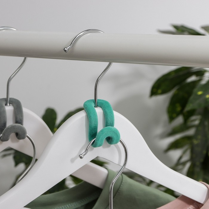 Крючок для вешалок, 533,4 см, цвет МИКС