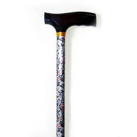 Трость телескопическая 10090/Fпл, 79-102 см, цвет «Цветочный микс»