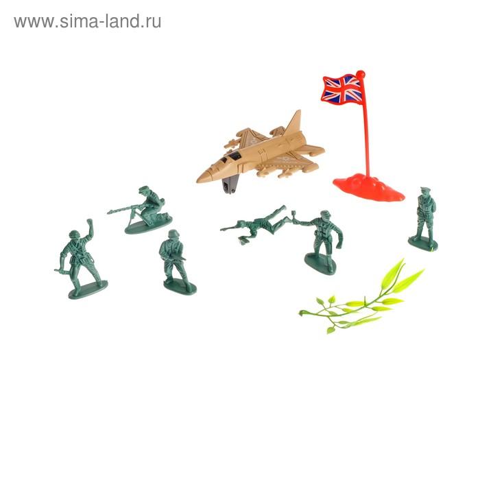 Набор солдатиков «Авиабаза»