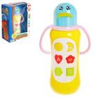 Развивающая игрушка «Музыкальная бутылочка» весёлые фразы, световые и звуковые эффекты