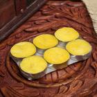 """Набор свечи в гильзе """"Платинум"""" 6 шт манго 11,5х8х1,5 см"""