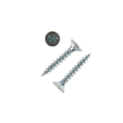 Саморезы универсальные TECH-KREP, ШУц, 5х35 мм, цинк, потай, 5500 шт.