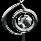 Сувенир «Скрипичный ключ», 3×3,6×7,8 см, с кристаллами Сваровски - Фото 5